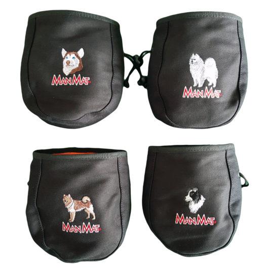 sac à friandise Manmat personnalise race de chien
