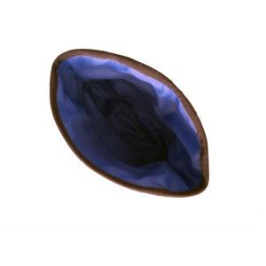 sac à friandise Manmat - poche sacoche interieur bleu