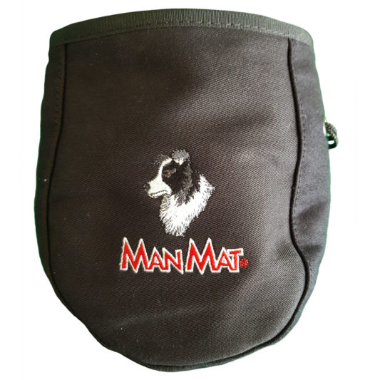 sac à friandise border collie chien Manmat