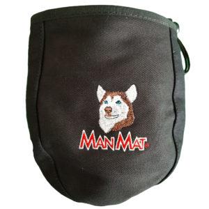 sac à friandise husky siberien malamute chien Manmat