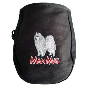 sac à friandise samoyède chien Manmat