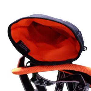 sac friandise ceinture interieur orange
