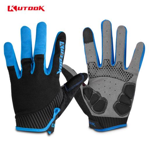 gants vtt canivtt long bleu glacial doigts protege