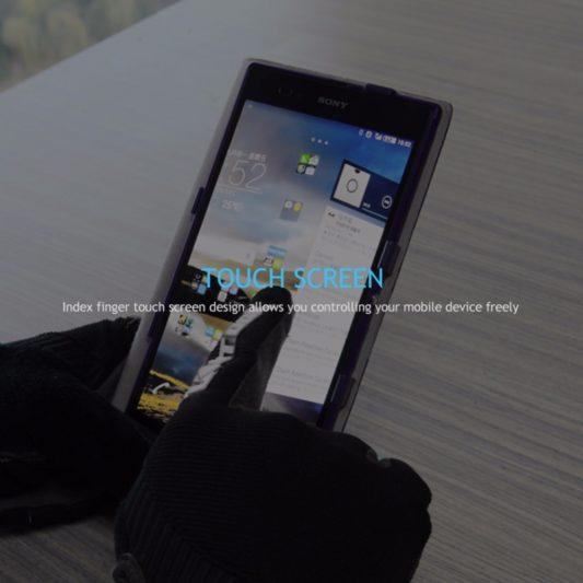gants vtt canivtt long digital smartphone touchscreen