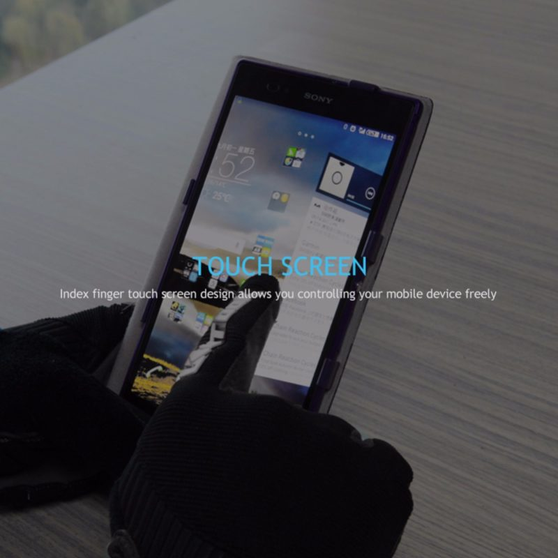 gants vtt canivtt long digital smartphone touchscreen