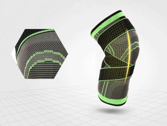 genouillere de renfort canicross canitrail running protege genou