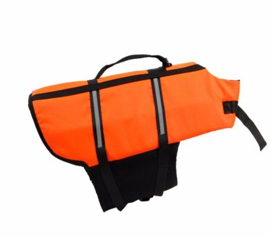 gilet de sauvetage pour chien orange pas cher