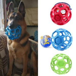 balle geometrique jouet grand chien