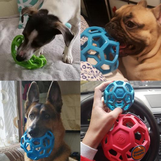 balle geometrique jw pour chien