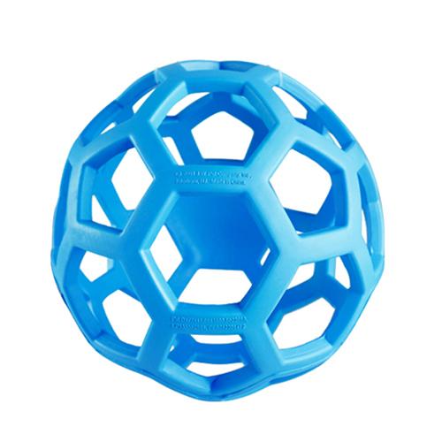 balle geometrique jw pour chien bleu glacial