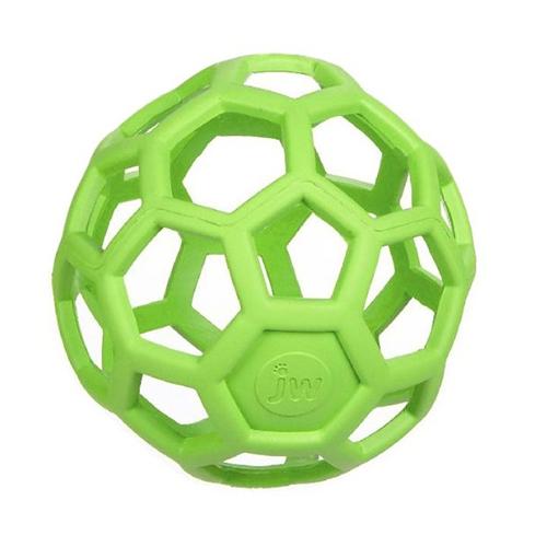 balle geometrique jw pour chien vert pomme