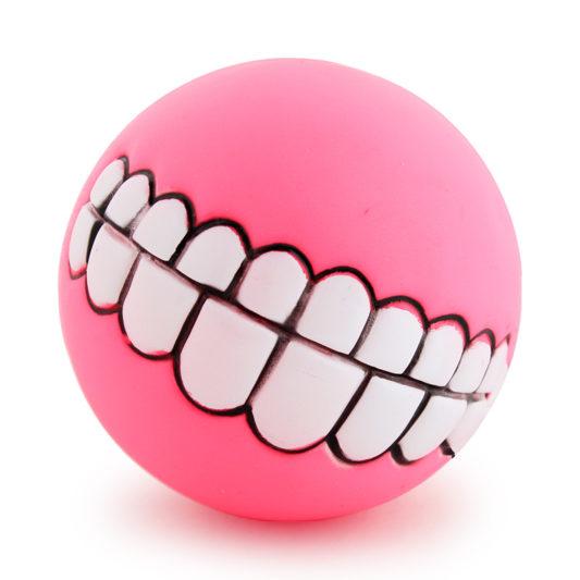 balle smile dog rose