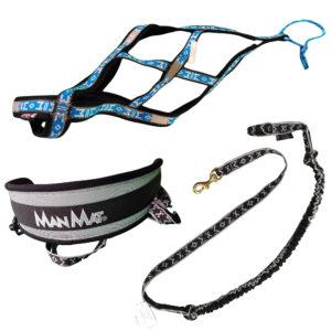 kit canicross ceinture canicross laisse harnais pour chien