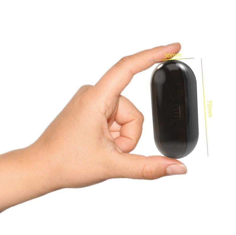 Écouteurs bluetooth sans fil boite minuscule petite