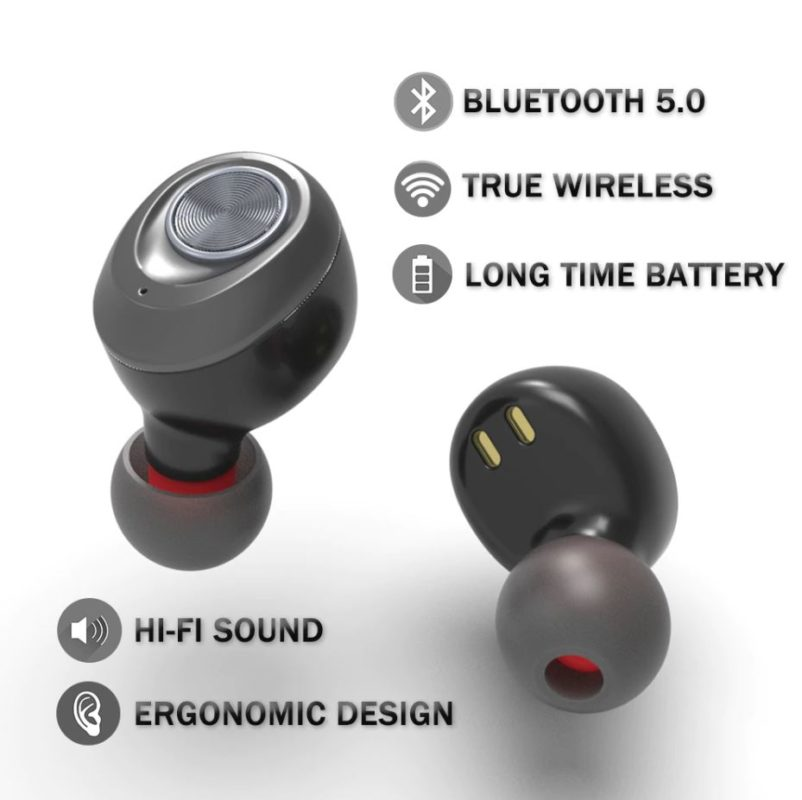 Écouteurs bluetooth sans fil detail technique