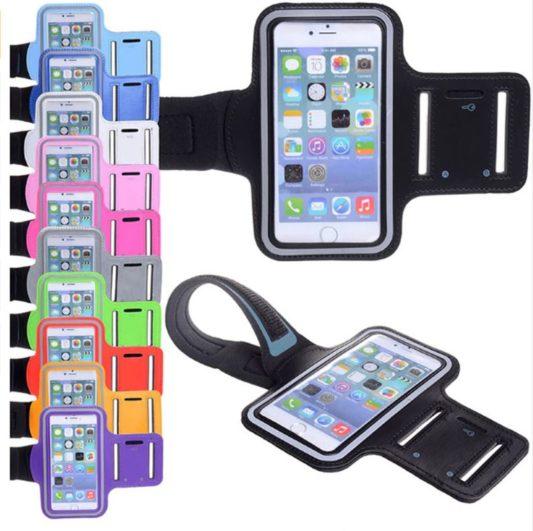 Brassard canicross smartphone