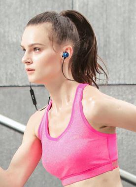 Ecouteurs bluetooth canicross, running, sport fille