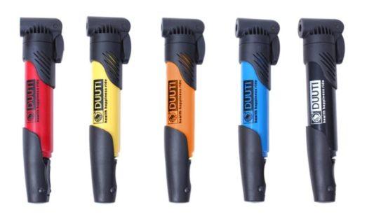 mini pompe cani vtt pompe a air kit accrochage embouts velo couleurs