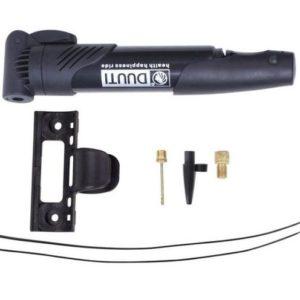 mini pompe cani vtt pompe a air kit accrochage embouts velo noir