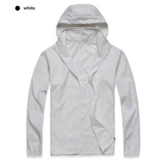 K-Way, veste imperméable ultra légère blanc