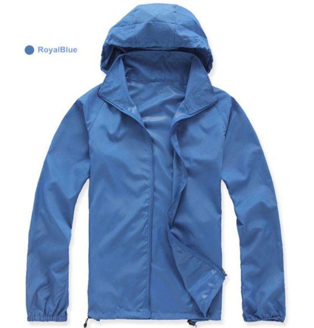K-Way, veste imperméable ultra légère bleu