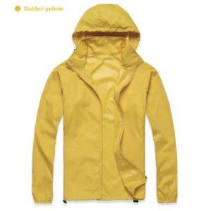 K-Way, veste imperméable ultra légère jaune