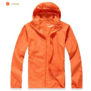 K-Way, veste imperméable ultra légère orange