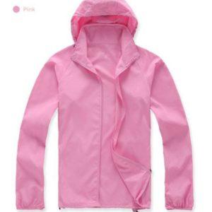 K-Way, veste imperméable ultra légère rose