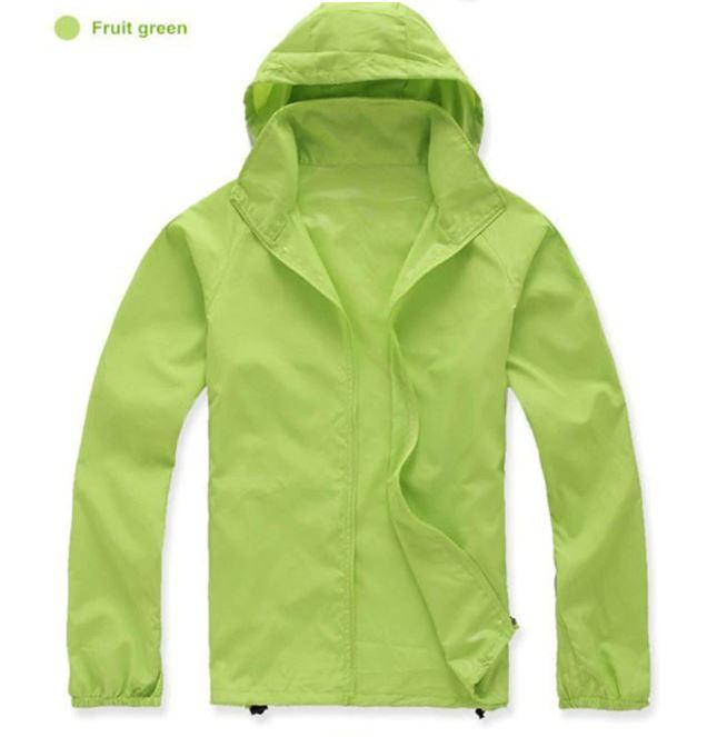 K-Way, veste imperméable ultra légère vert pomme