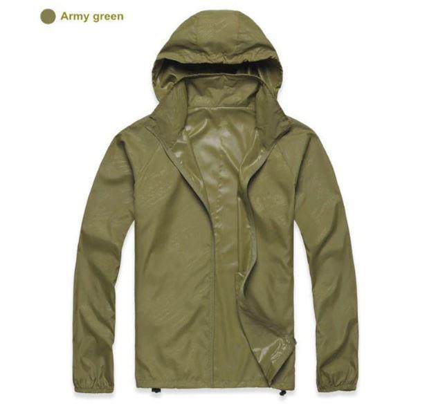 K-Way, veste imperméable ultra légère vert