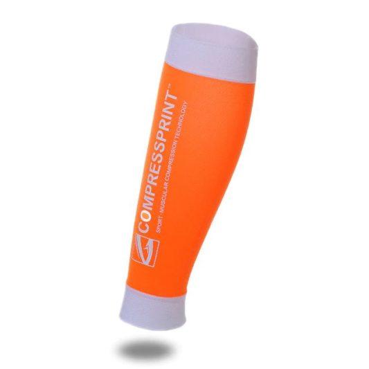 Manchon de compression CompressPrint orange