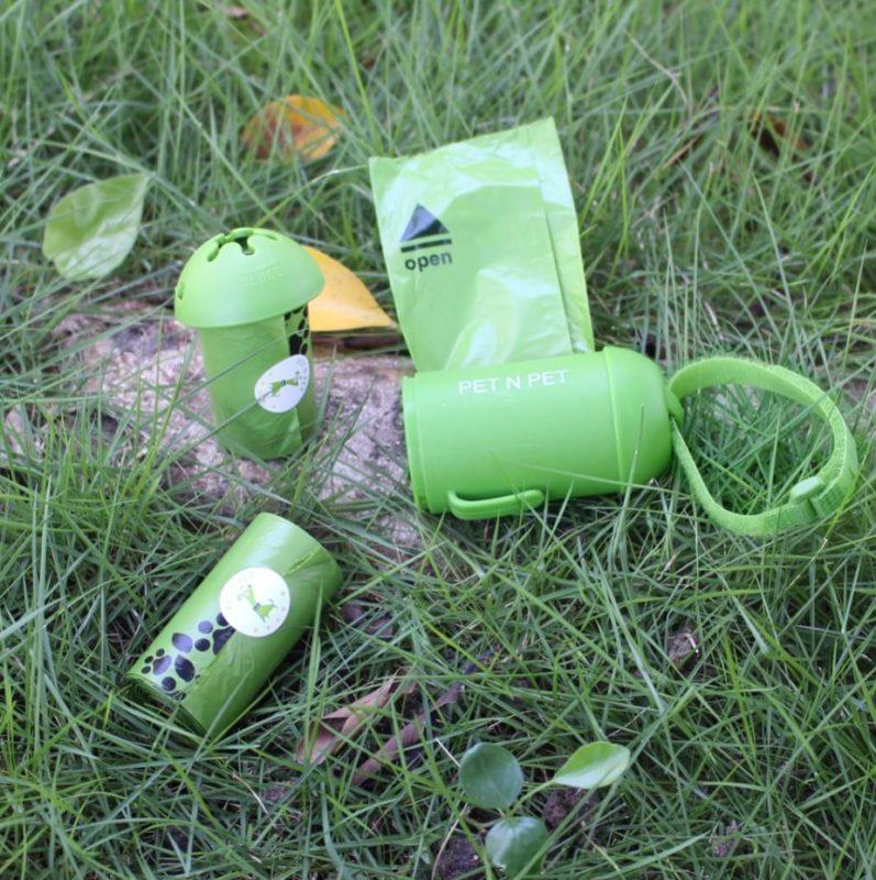 distributeur sac a crotte biodegradable pour chien ecologique