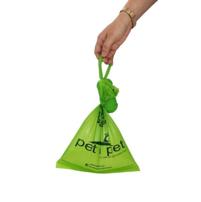 distributeur sac ramasse crotte biodegradable pour chien