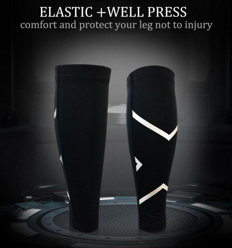 guetre compression reflectactive elastique mollet