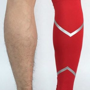 guetre compression reflectactive rouge