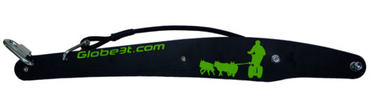 barre cani trottinette the wild attelage canin vert